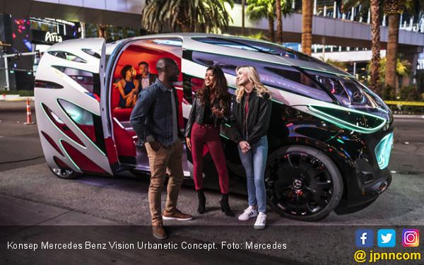 Mercedes Benz Tawarkan Konsep Mobil Serbaguna di Perkotaan - JPNN.COM