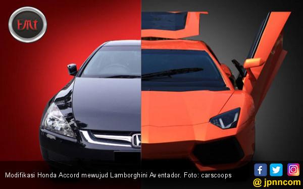 Langkah Murah Menyilangkan Honda Accord Mewujud Lamborghini - JPNN.COM