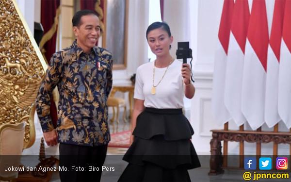 Agnez Mo Diberi Waktu 30 Menit Bersama Jokowi
