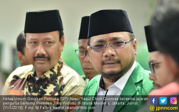 GP Ansor dan Jokowi Bahas Situasi Negara - JPNN.COM