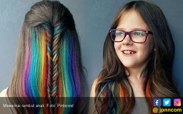 Jangan Warnai Rambut Anak Anda, Ini Alasannya - JPNN.COM