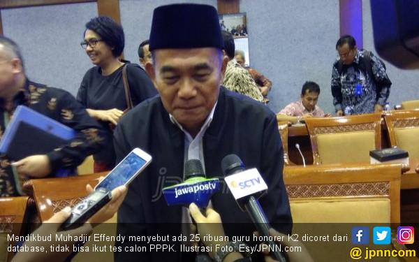 25 Ribu Guru Honorer K2 Dicoret, Tertutup Peluang jadi PPPK - JPNN.COM
