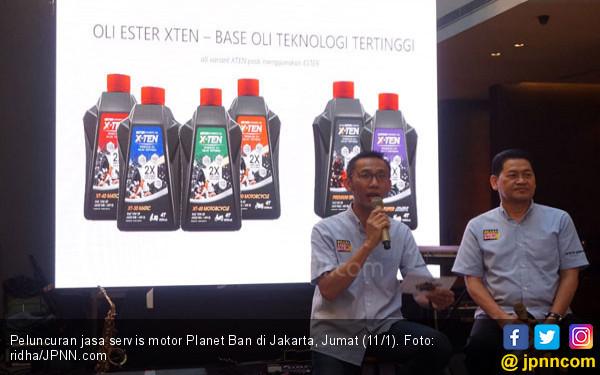 Planet Ban Buka Layanan Servis Motor Tanpa Bongkar dan Murah - JPNN.COM