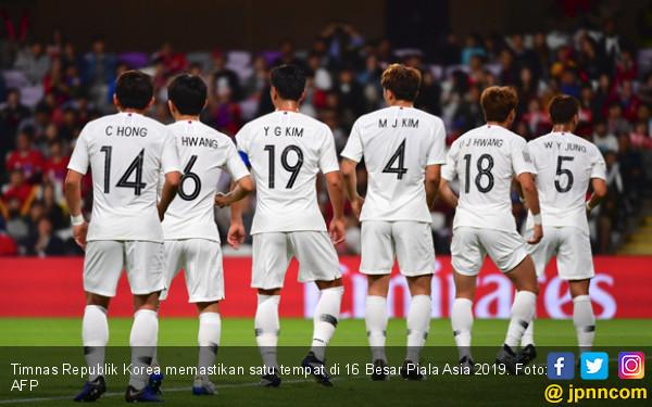 Korea Susul Tiongkok ke 16 Besar Piala Asia 2019 - JPNN.COM