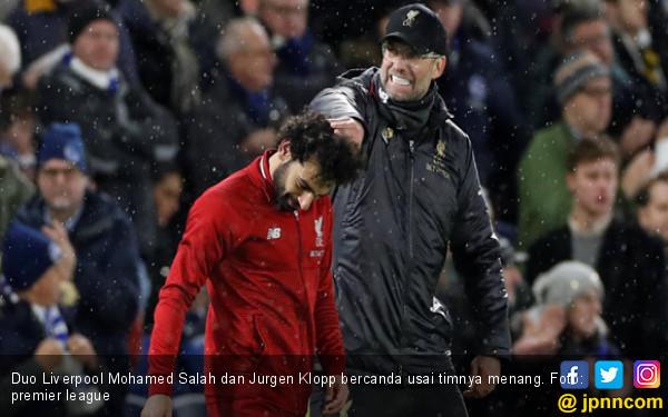 Berkat Salah, Liverpool Menang dari Brighton and Hove Albion - JPNN.COM