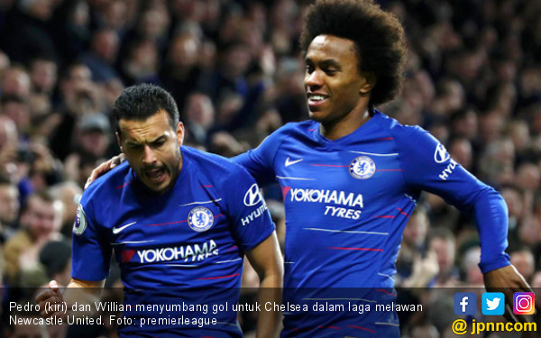 EPL: Sikat Newcastle, Chelsea Menjauh dari Arsenal - JPNN.COM