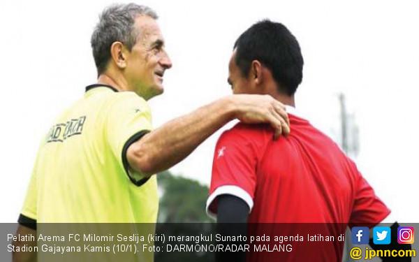 Pelatih Arema FC: Tidak Ada Kata Draw atau Kalah - JPNN.COM