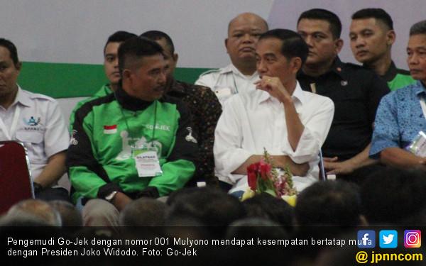 Mulyono Kenang Momen Jadi Driver Pertama Go-Jek pada Jokowi - JPNN.COM