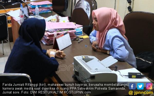 Bunuh Bayi, Mahasiswi Kirim Pesan Singkat ke Polisi Pacarnya - JPNN.COM