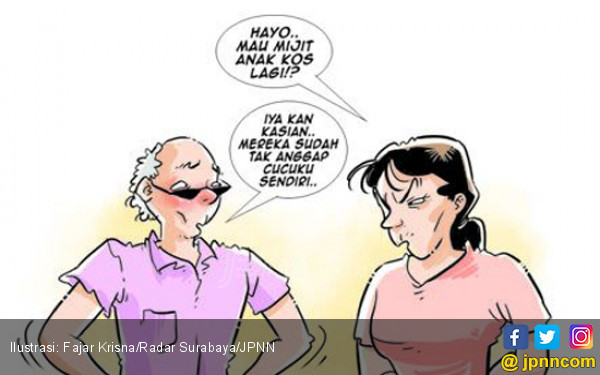 Kisah Pria Tua Pemilik Kos Sering Masuk Kamar Wanita Muda - JPNN.COM