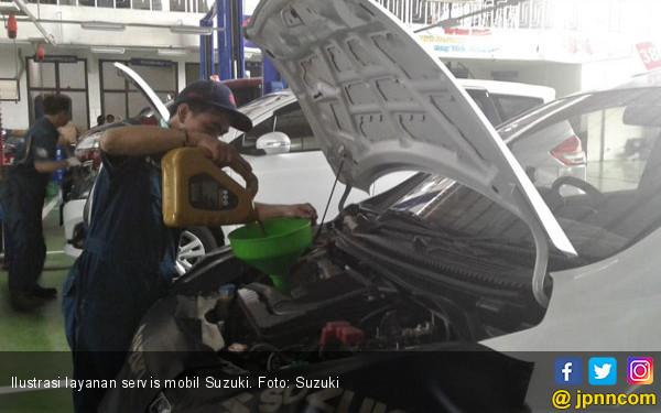 Suzuki Gelar Free Service Check Up Bagi Korban Gempa Lombok - JPNN.COM