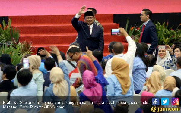 Prabowo: Jangan-jangan 10 Tahun Saja Sudah Setengah Mati - JPNN.COM