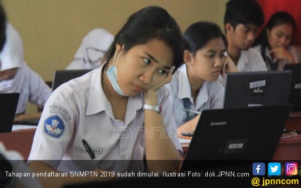 Pendaftaran SNMPTN 2019: Pengisian PDSS Masih Minim - JPNN.COM