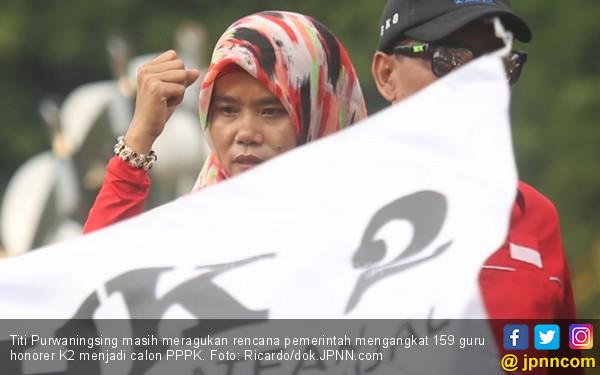 Info dari Mbak Titi PHK2I: 51 Ribu PPPK Siapkan Demo Besar-besaran - JPNN.com