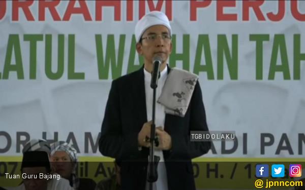 TGB Ajak Warga Nahdlatul Wathan Kompak Dukung Jokowi - JPNN.COM