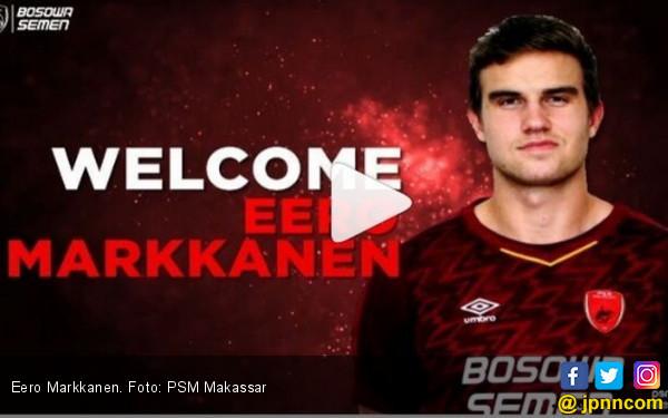 Eero Markkanen Ditarget Cetak Minimal 10 Gol Dalam 17 Laga - JPNN.COM