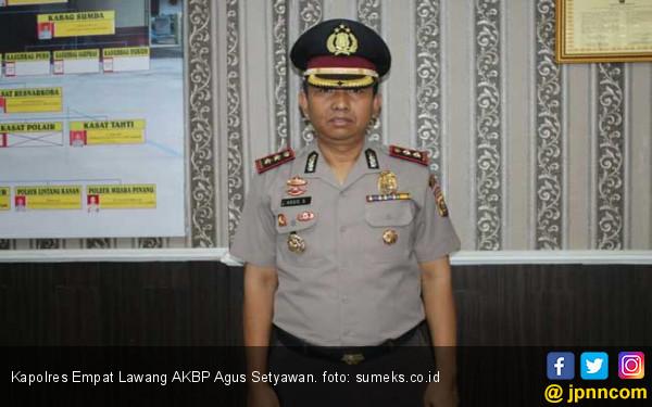 AKBP Agus Setyawan Dicopot dari Kapolres Empat Lawang - JPNN.com