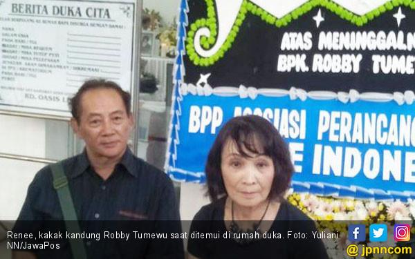 Kakak Ungkap Kondisi Terakhir Robby Tumewu Sebelum Meninggal - JPNN.com