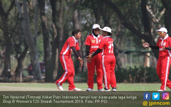 Istimewa, Timnas Kriket Putri Melaju ke Semifinal - JPNN.COM