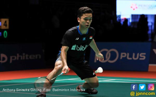 Ginting Ungkap Kunci Kemenangan di 32 Besar Malaysia Masters - JPNN.COM