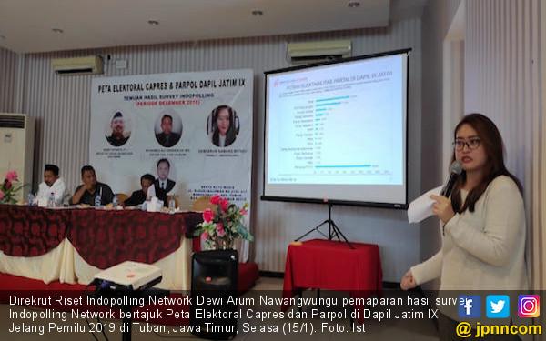 Hasil Survei Indopolling Network: PKB Unggul di Jawa Timur - JPNN.COM