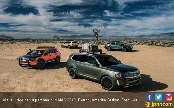 Kia Telluride Didaulat Sebagai Mobil Terbaik di Dunia - JPNN.com