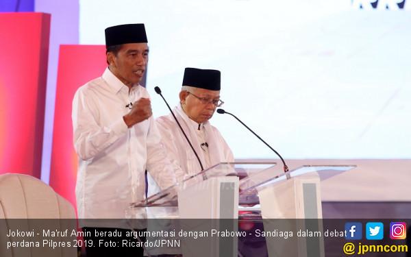 Kiai Ma'ruf Amin Merasa Menangi Debat Pilpres 2019 - JPNN.com