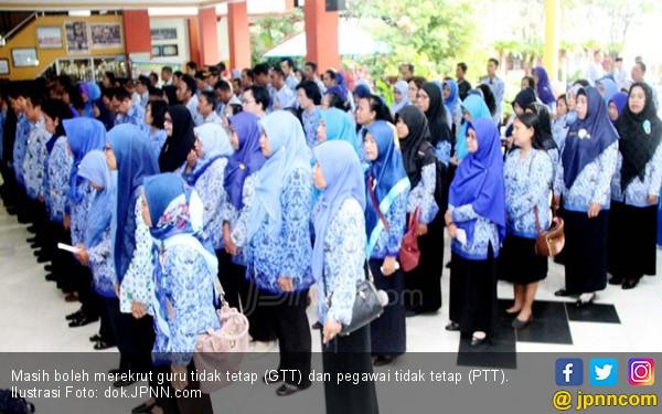 Keppres Agar GTKHNK 35+ diangkat Menjadi PNS Tanpa Tes, Kata Yusak honorer di SMK Negeri 2 dan SMA Negeri 3 Kota Bengkulu