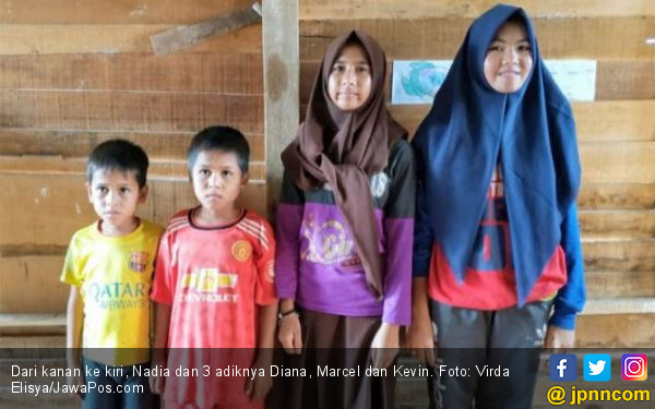 Ayah Ibu Pergi Nikah Lagi, Nadia Harus Menghidupi Tiga Adiknya - JPNN.COM