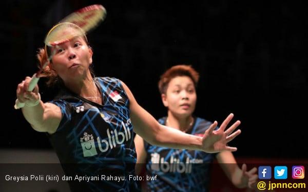 81 Menit, Greysia / Apriyani Takluk dari Misaki / Ayaka di Semifinal Indonesia Masters - JPNN.com
