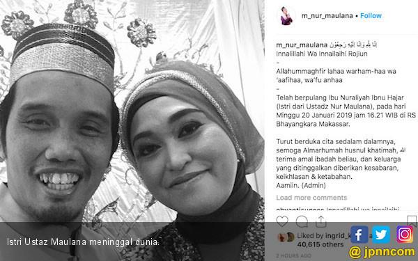 Mengharukan! Lebaran Pertama Bagi Ustaz Maulana dan Empat Anaknya Tanpa Umi - JPNN.com