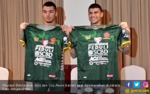 PS Tira Datangkan Alves dan Beknazarov - JPNN.COM