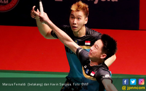 Sudirman Cup 2019: Minions Butuh 40 Menit Bawa Indonesia Unggul dari Inggris 1-0 - JPNN.com