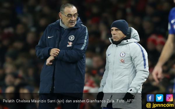Arsenal 2-0 Chelsea: Maurizio Sarri Mengamuk di Ruang Ganti - JPNN.COM