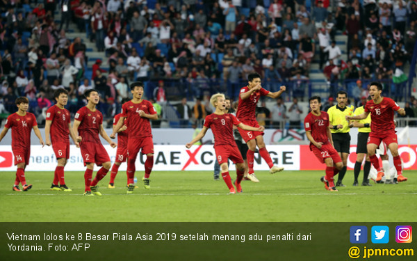 Di Balik Kesuksesan Vietnam Lolos 8 Besar Piala Asia 2019 - JPNN.COM