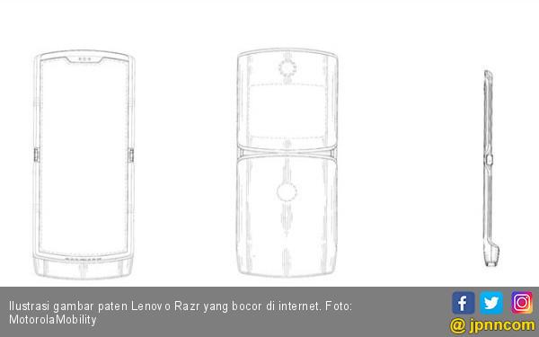 Rencana Lenovo Merilis Motorola Razr Kian Nyata - JPNN.com