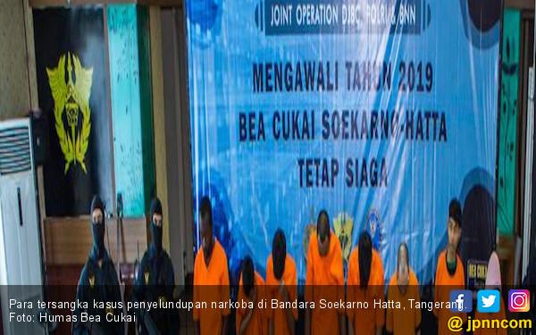 Bea Cukai Soekarno Hatta Sukses Menggagalkan 5 Upaya Penyelundupan Narkoba - JPNN.com