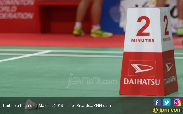Indonesia Masters 2019: Kento Momota Taklukkan Jan O Jorgensen - JPNN.COM