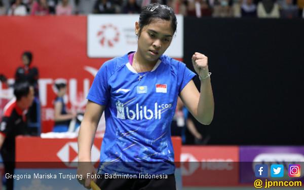 Indonesia Masters: Semoga Sakit di Pinggang Gregoria Mariska Cepat Sembuh - JPNN.COM
