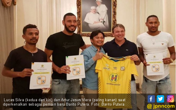 Sambut Liga 1 2019, Barito Putera Datangkan 2 Bek Brasil - JPNN.com