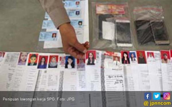 Alamak, Puluhan Perempuan Cantik Tertipu Lowongan Kerja SPG - JPNN.com