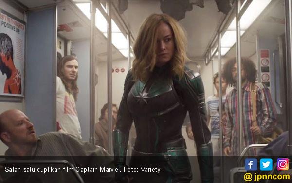 Hari Valentine Bareng Pemain Captain Marvel di Luar Angkasa - JPNN.com