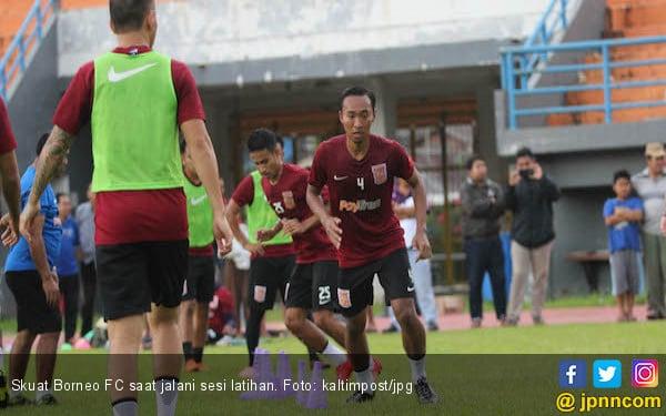 Lini Belakang Borneo FC Makin Garang Jelang Lawan PSS Sleman - JPNN.COM
