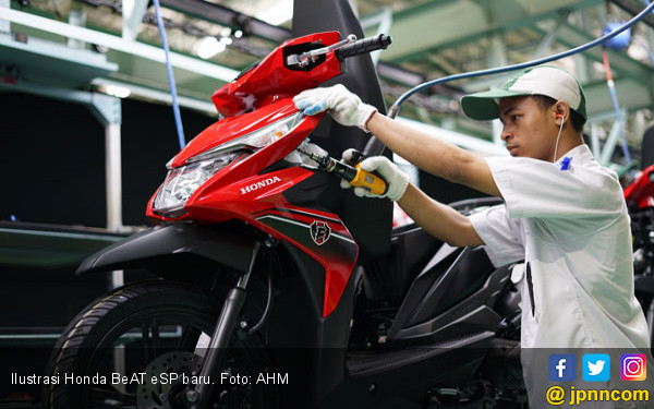 AHM Resmi Setop Produksi Honda BeAT Pop - JPNN.com