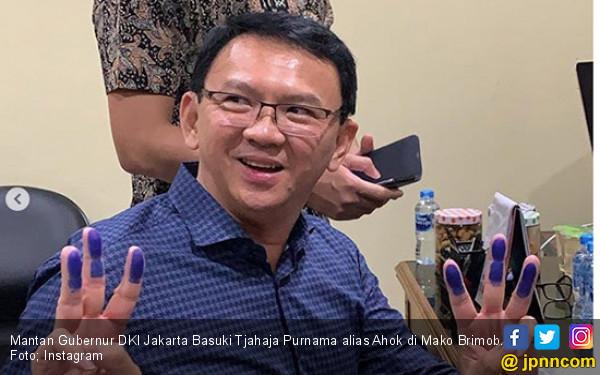 Kunjungi Keluarga Mantan Kapolri, Ahok Dapat Inspirasi Latihan Bernyanyi - JPNN.COM