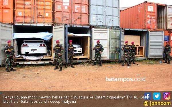 Bongkar Penyeludupan Mobil Mewah, BC Batam Gandeng BC Daerah Lain - JPNN.com