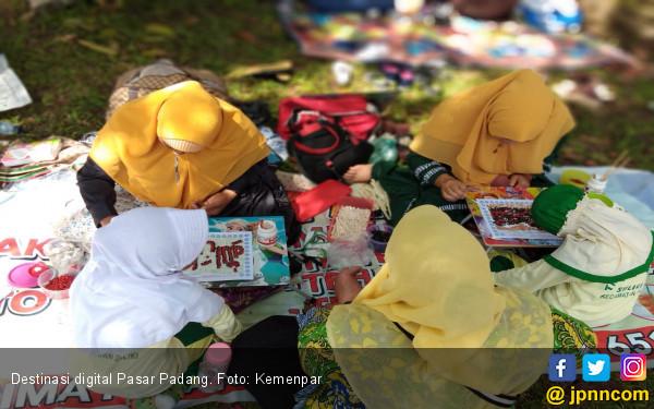 Pasar Padang Menambah Panjang Daftar Destinasi Digital GenPI - JPNN.com
