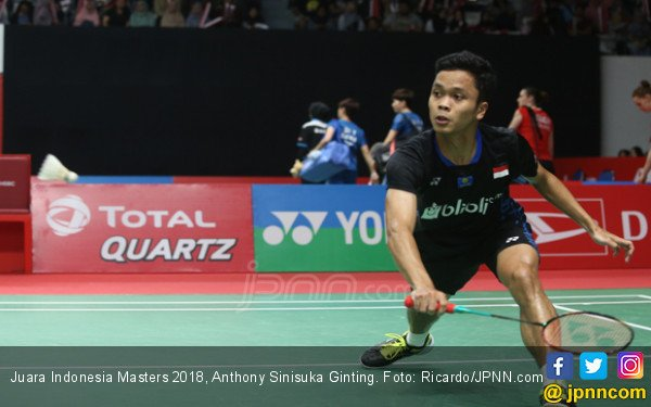 Big Match! Ginting Vs Momota di Indonesia Masters Sore Ini - JPNN.COM
