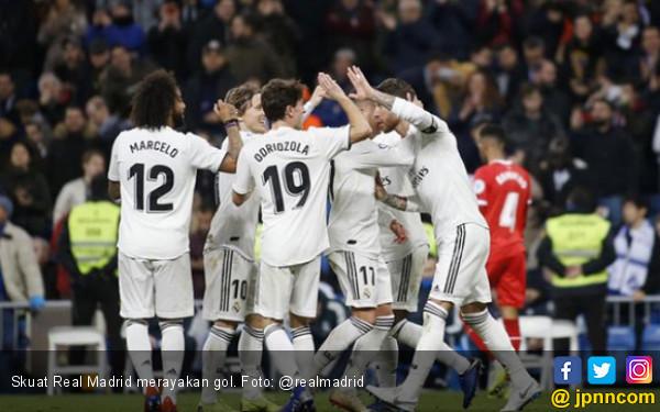 Real Madrid Menang Comeback atas Girona di Leg Pertama 8 Besar Copa del Rey - JPNN.com