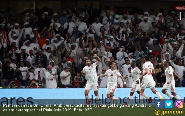 Piala Asia 2019: Qatar Catat Rekor, Tuan Rumah Singkirkan Juara Bertahan - JPNN.com
